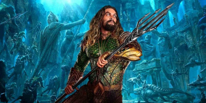 detail Aquaman - DVD