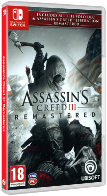 Assassin's Creed III: Remastered - Switch