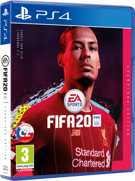 detail FIFA 20 Champions Edition CZ - PS4